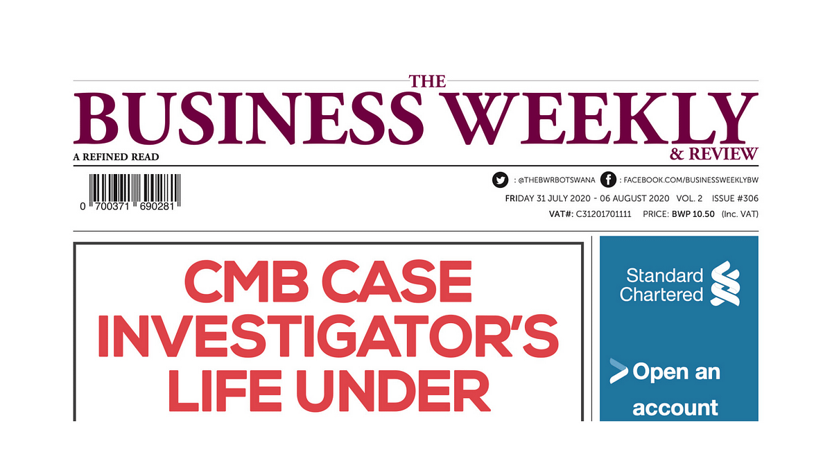 The Business Weekly & Review 31 July 2020