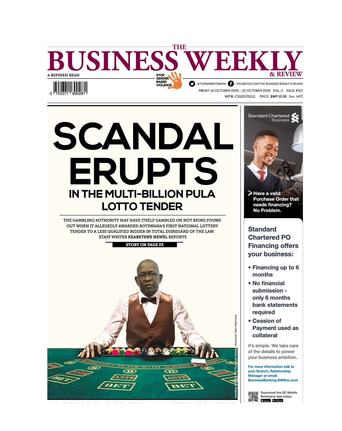 The Business Weekly and Review 16 October 2020