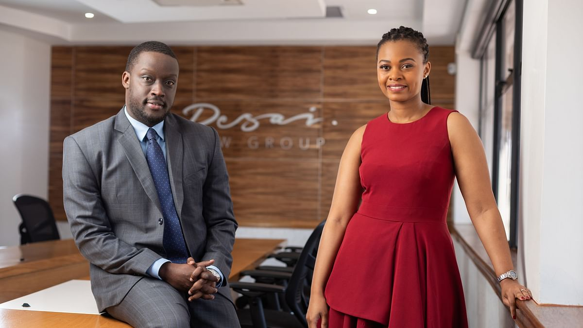 Desai Law Group Appoints Eleng Mugabe & Walter Mushi as Partners