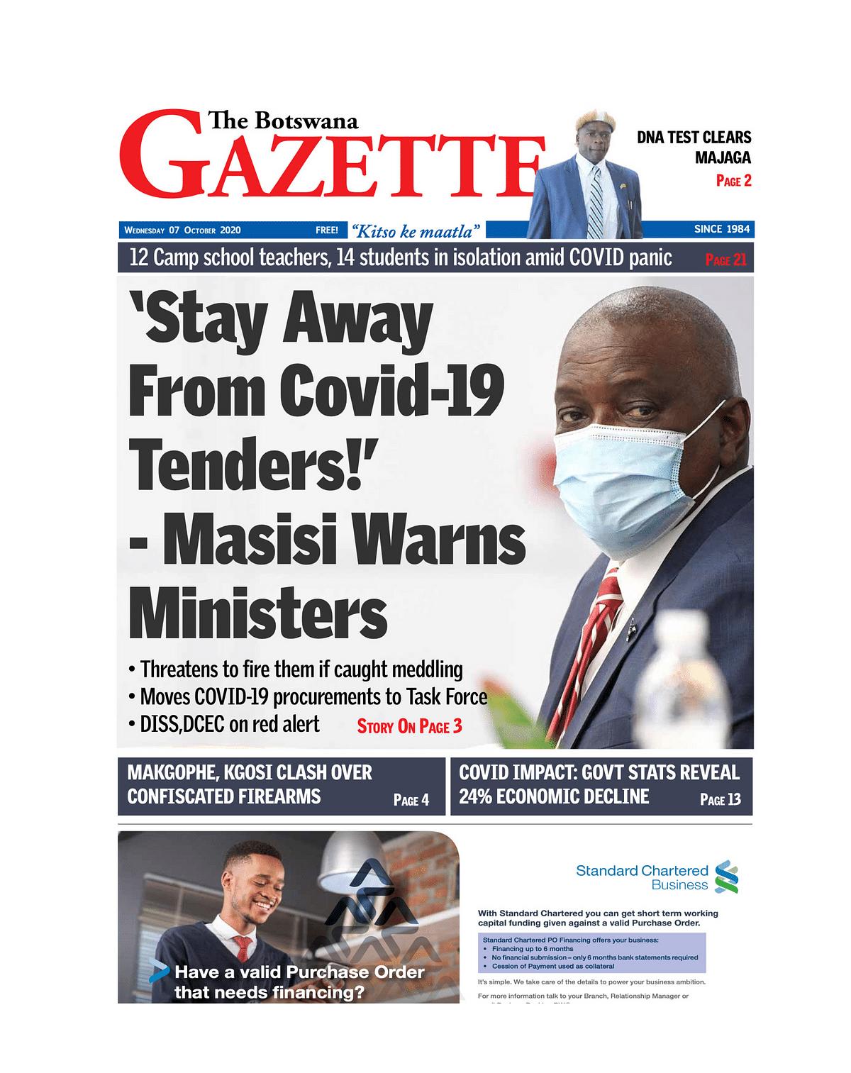 The Botswana Gazette 07 October 2020