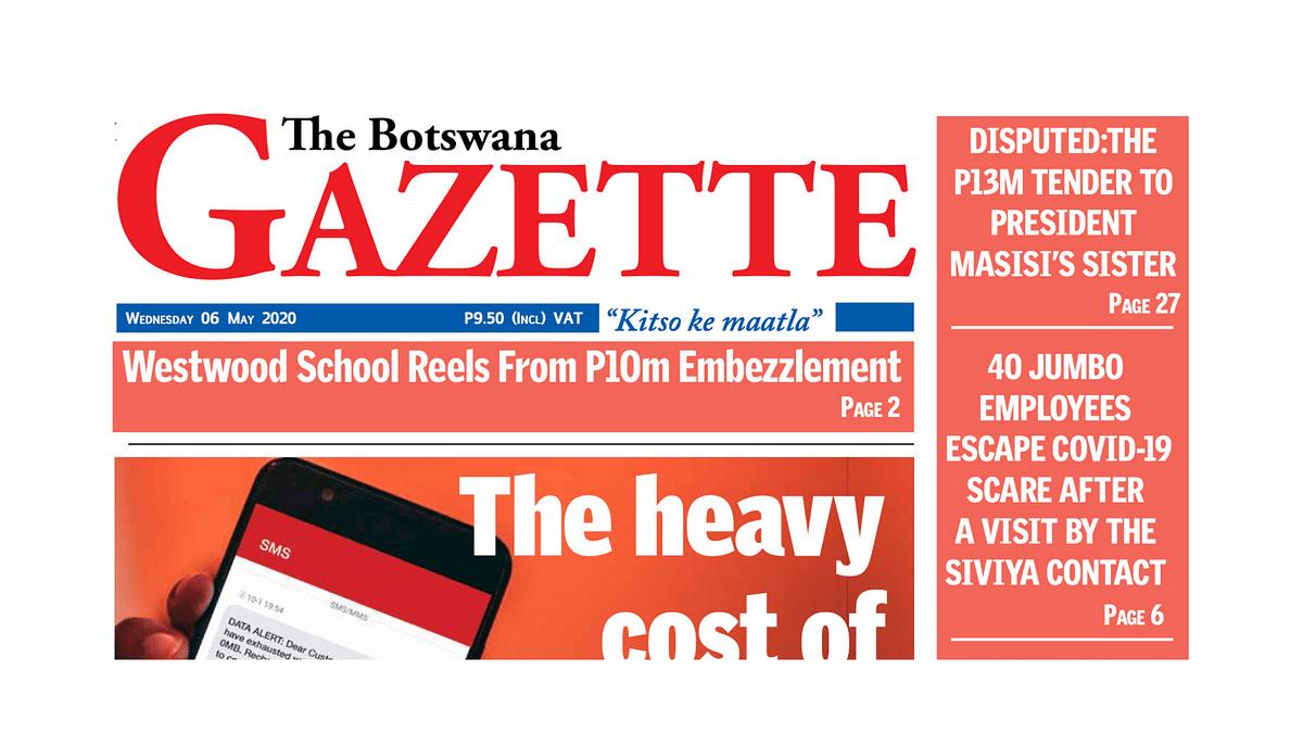 The Botswana Gazette 6 May 2020