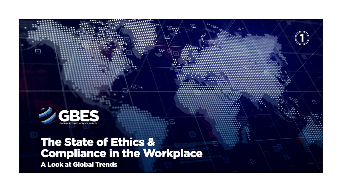 2021 The State of Ethics & Compliance in the Workplace Report