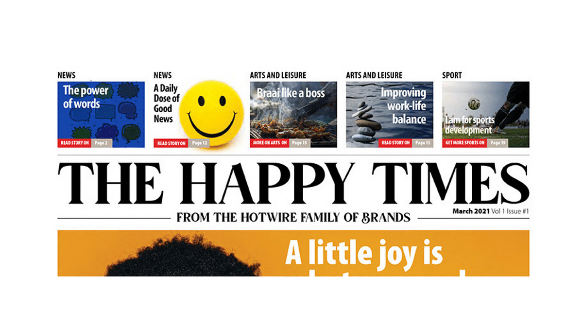 The Happy Times - Issue 1, March 2021