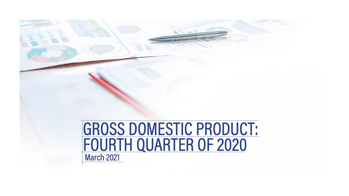 Gross Domestic Product - Fourth Quarter of 2020