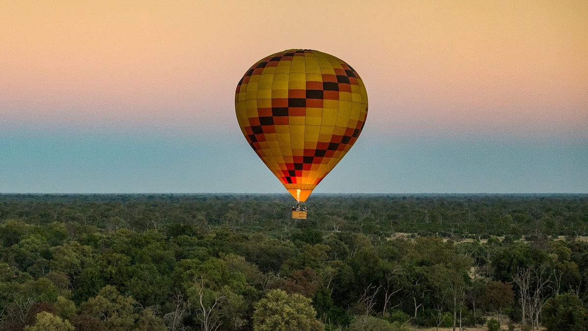 Vumbura's 2021 Hot Air Ballooning Season Begins