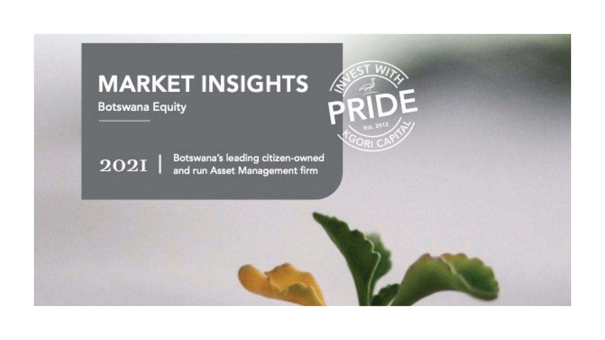 Kgori Local Equity Commentary August 2021
