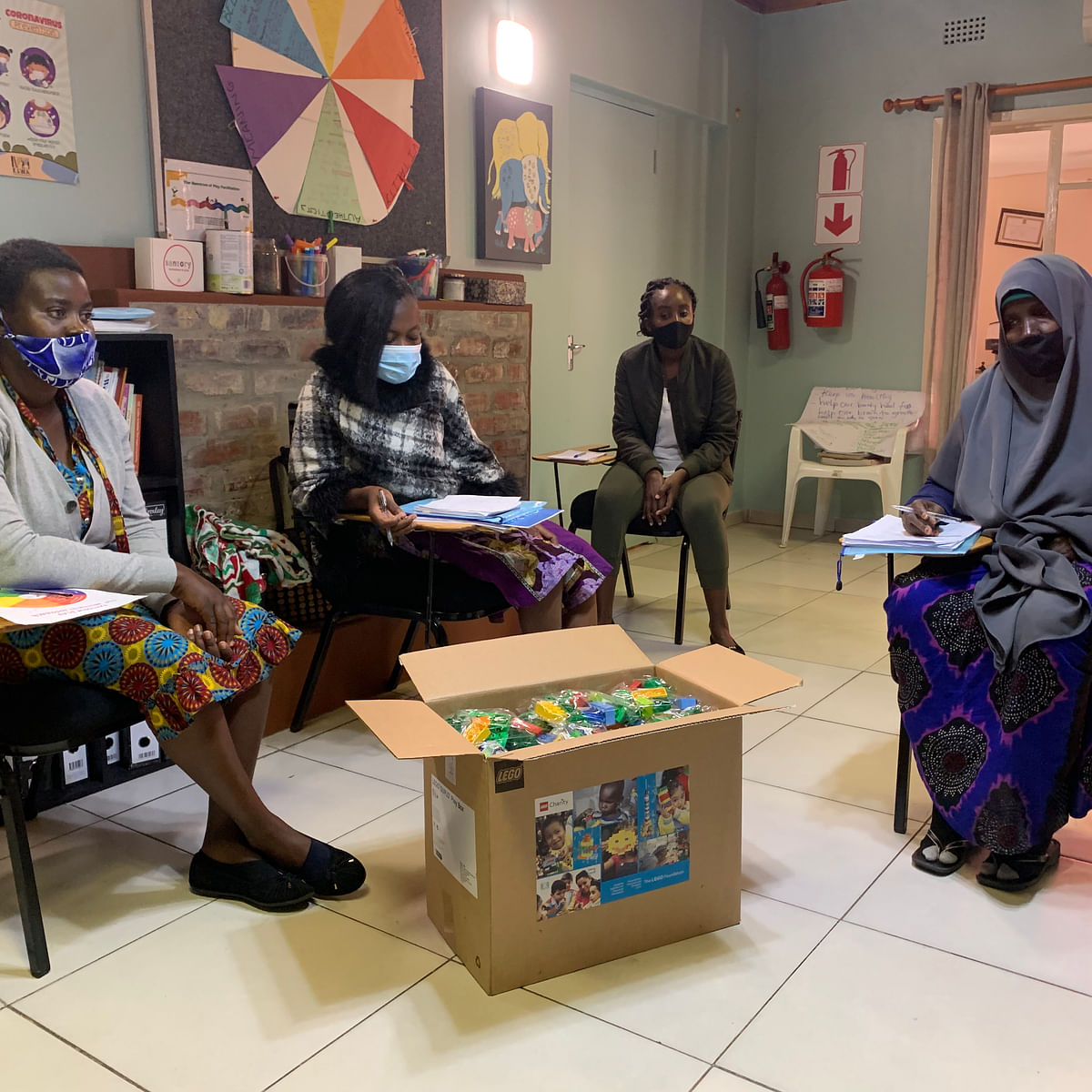 Learn To Play Tackles Injustice & Establishes Playgroup in Dukwi