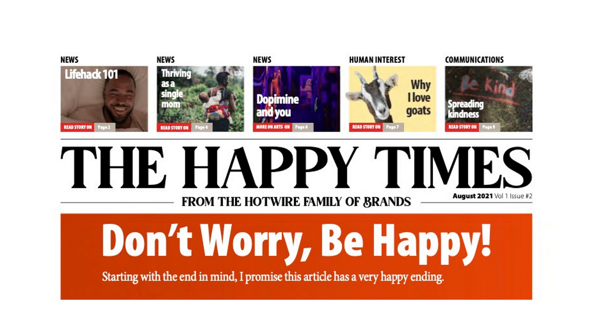 The Happy Times - Issue 2, August 2021