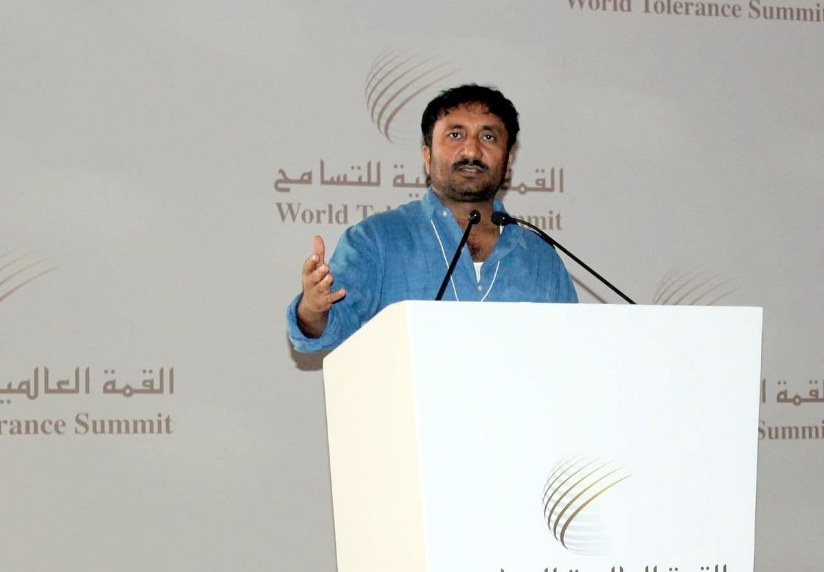 super 30 founder Anand kumar in USA