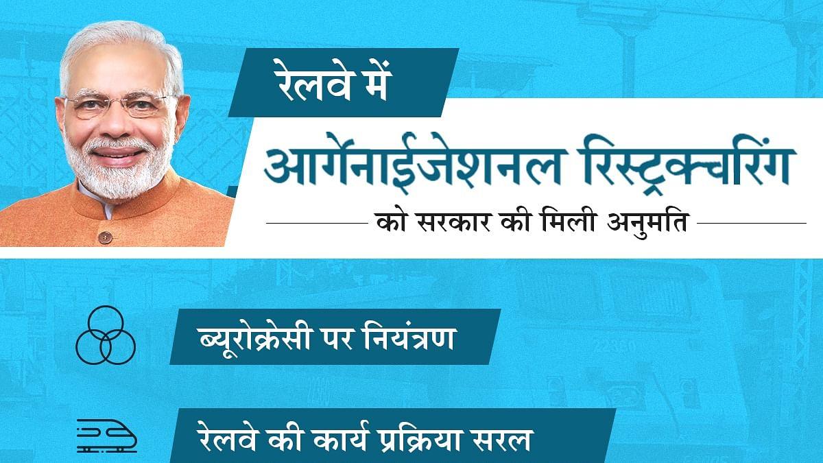 Historic decision... रेलवे में बड़े बदलाव के लिए सरकार की मंजूरी, अब रेलवे का भी अपना CEO होगा
