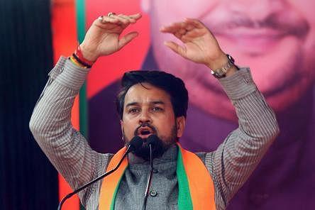 चुनाव आयोग ने अनुराग ठाकुर को भेजा नोटिस, चुनावी सभा के दौरान लगाए थे भड़काऊ नारे...