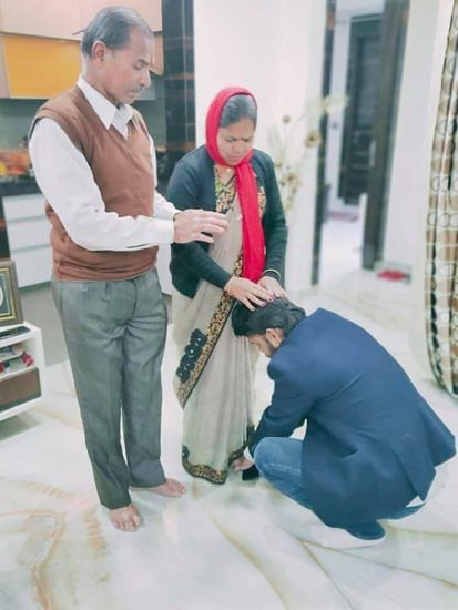 AAP MLA Praveen Kumar
