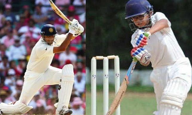 rahul dravid and son samit dravid
