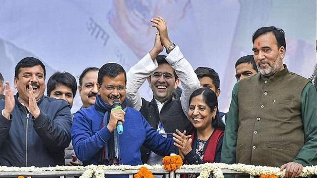 शुक्रिया दिल्ली: जीत के बाद अरविन्द केजरीवाल