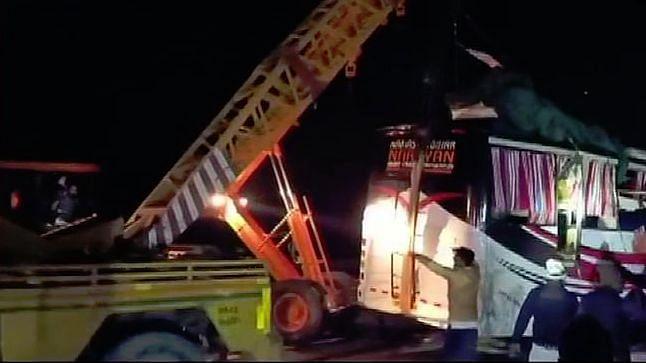 Auraiya road accident