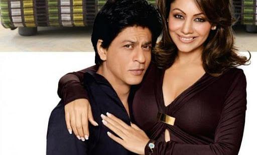 shahrukh and wife gauri