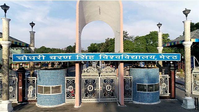Chaudhary Charan Singh University Corona Virus