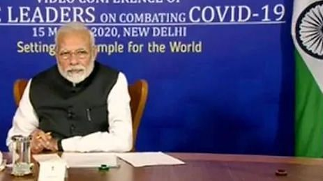 PM modi addressing SARC countries