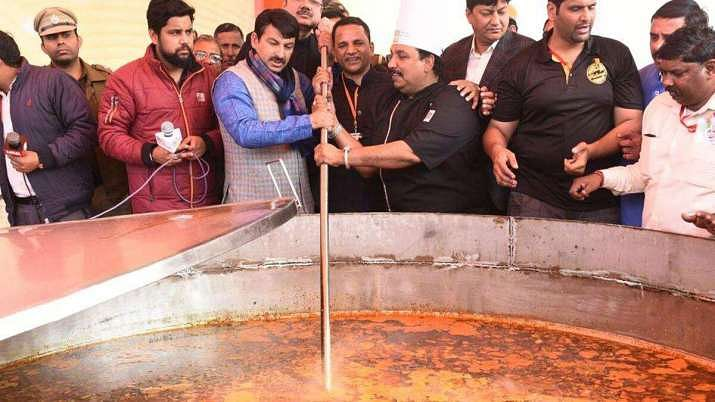 भाजपा का 'महाभोज अभियान' शुरू, रोजाना 5 करोड़ जरूरतमंदों को भोजन कराने का लक्ष्य