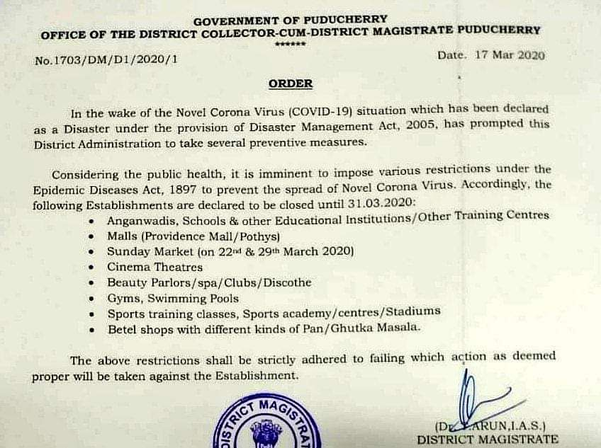 office order banning