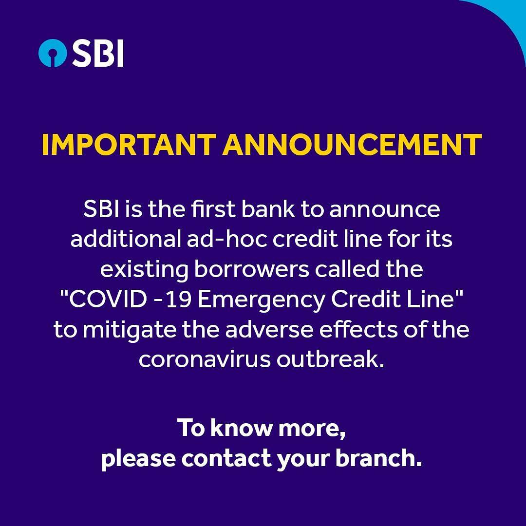 Lockdown: SBI बना ग्राहकों को राहत देने वाला पहला बैंक, 3 महीने खुद टाली EMI, देखें- कुछ जरूरी सवालों के जवाब