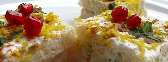 bread dahi chaat