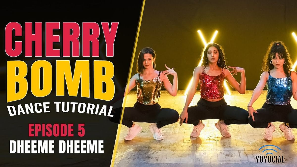 Cherry Bomb – Dheeme Dheeme Dance Tutorial | Bollywood Dance Cover | Hattke