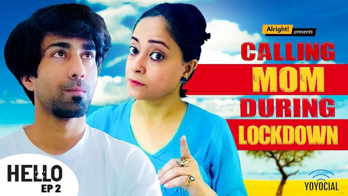 Calling Mom During Lockdown | Hello Ep. 2 | Ft. Ambrish Verma & Sheeba Chaddha