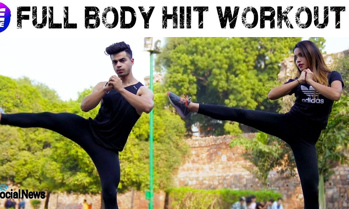 LIT | Full Body HIIT Workout Without Equipments | Be More