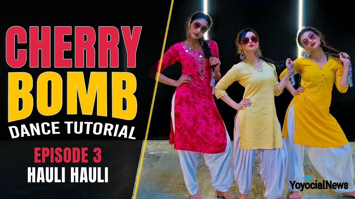 Cherry Bomb – Hauli Hauli Dance Tutorial | Bollywood Dance Cover | Hattke ​