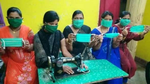 मध्य प्रदेश: मनरेगा मजदूरों को दिए जाएंगे होम मेड मास्क