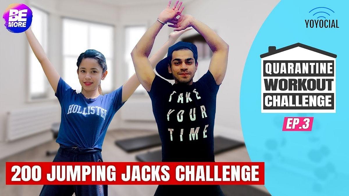 Boys Vs Girls Quarantine Workout Challenge   14 Day Fitness Challenge   Day 7 - 9