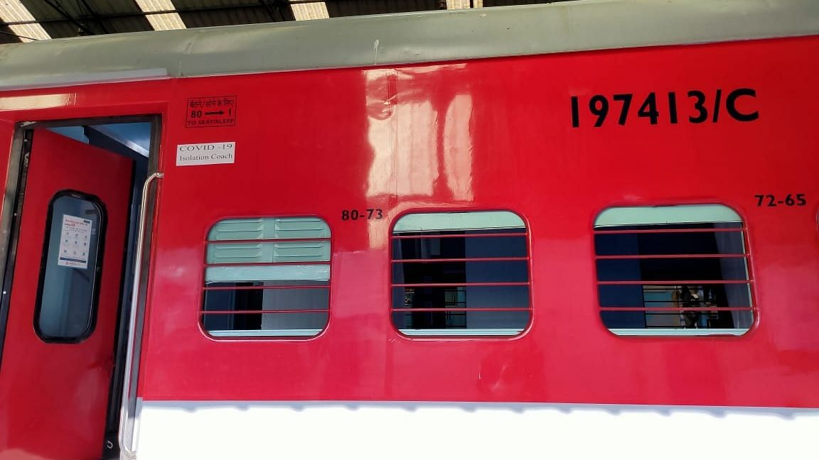 रेलवे 20 हजार कोचों को आइसोलेशन वार्ड में तब्दील करेगा