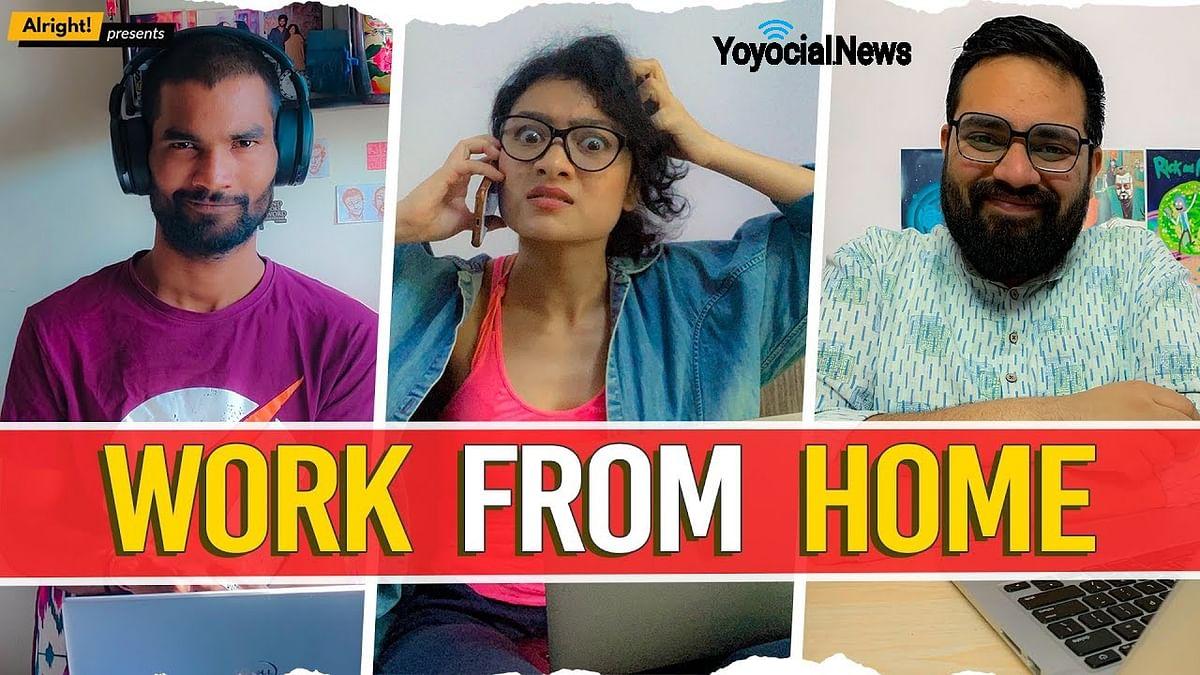 Work From Home | घर पे मौज | Ft. Nikhil Vijay, Jahnvi Rawat & Akhilesh Vats | Arré