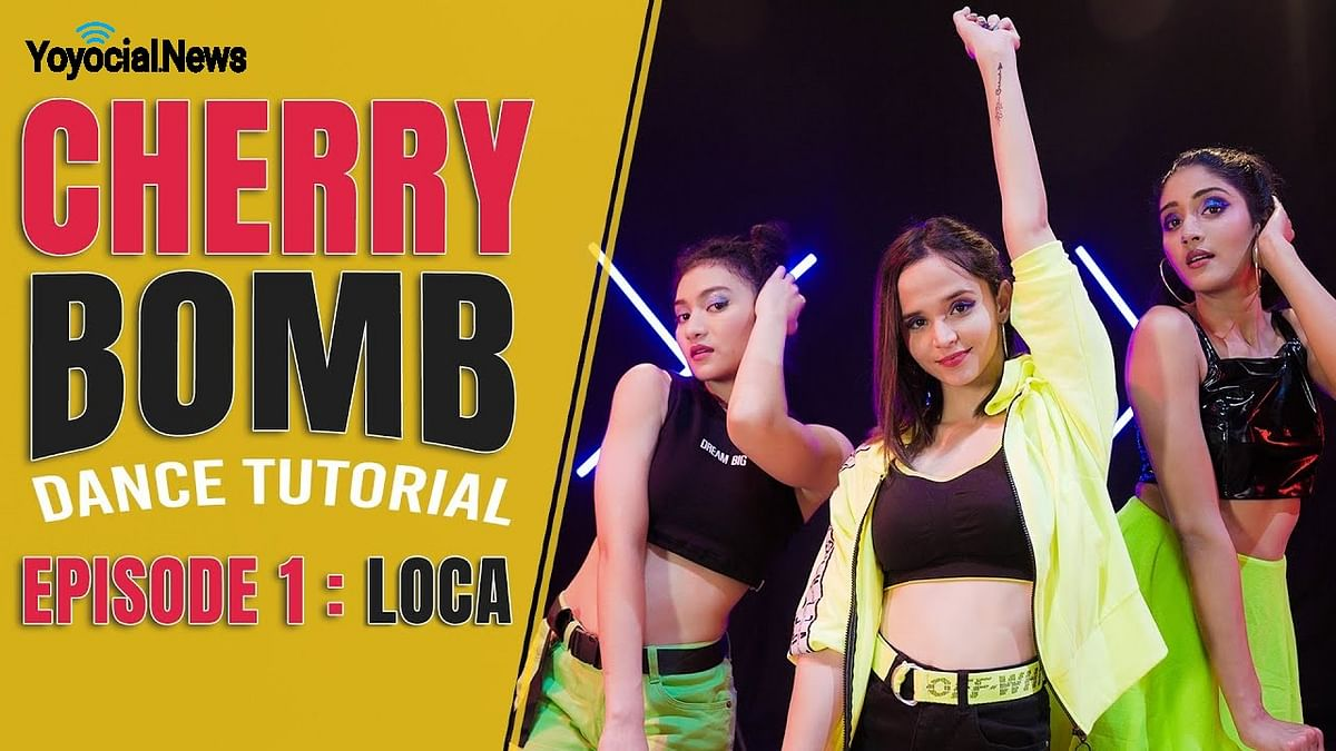 Cherry Bomb – LOCA Dance Tutorial | Bollywood Dance Cover | Hattke ​