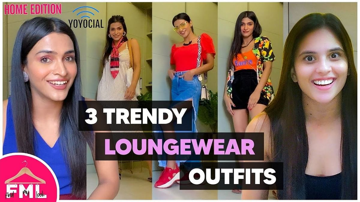 3 Loungewear Outfit Ideas | Makeover Challenge At Home | Summer Lookbook | FML