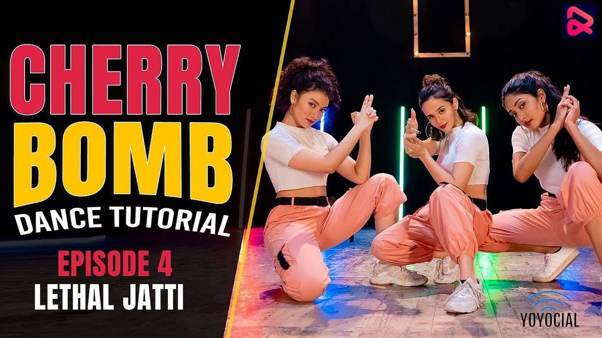 Cherry Bomb – Lethal Jatti Dance Tutorial | Bollywood Dance Cover | Hattke 