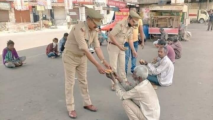 Police helping poor