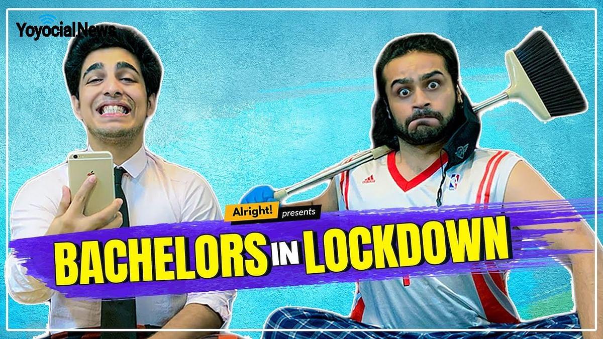 Bachelors In Lockdown | बैचलर् और जनता कर्फ़्यू | Ft. Gagan Arora & Jitendra Singh Rajput