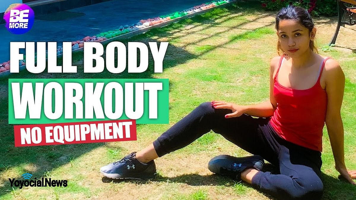 Full Body Workout At Home without Gym Equipment | बिना जिम घर पर वर्काउट कैसे करें | Be More
