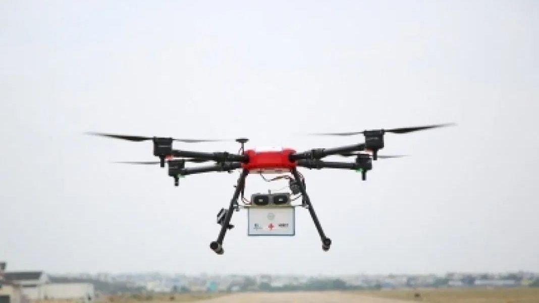 पीएम मोदी के निर्वाचन क्षेत्र वाराणसी को सैनेटाइज करेगा ड्रोन गरुड़