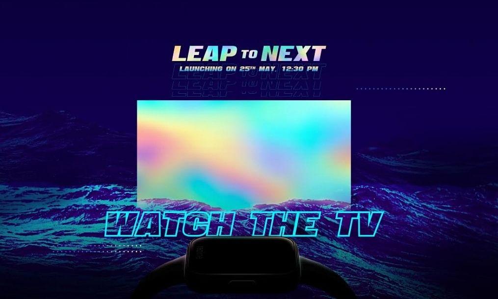 रियलमी टीवी, स्मार्टवॉच भारत में 25 मई को होंगे लॉन्च