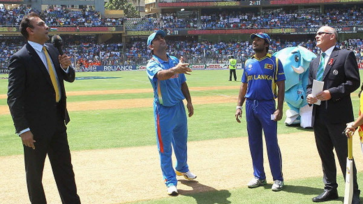 Toss in World Cup 2011 Final Match