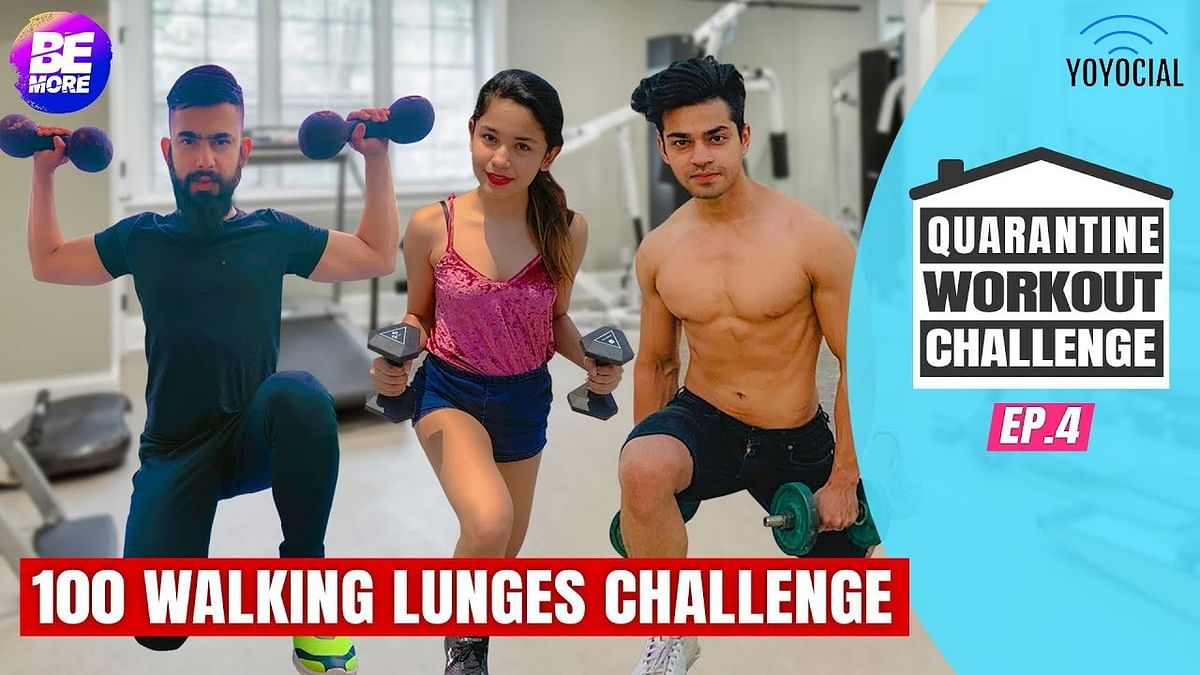 Boys Vs Girls Quarantine Workout Challenge Ft. Abhishek Thakur | 14 Day Fitness Challenge |Day 10-12