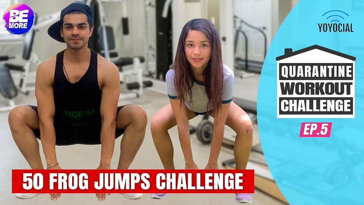 Boys Vs Girls Quarantine Workout Challenge | 14 Day Fitness Challenge | Day 13-15