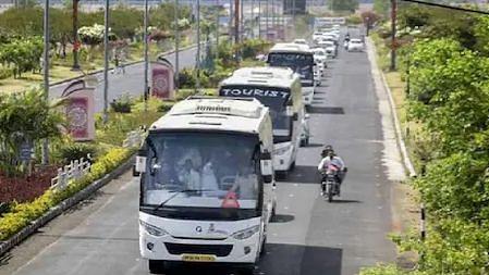 Lockdown3.0: गृह मंत्रालय ने Orange Zone में बसों की आवाजाही को लेकर जारी की नई गाइडलाइन...