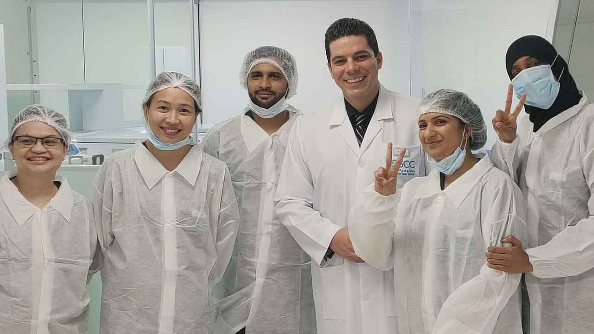 UAE Abu Dhabi Stem Cell Center Corona Treatment