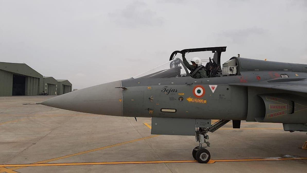 Air Chief Marshal RKS Bhadauria flew LCA Tejas fighter
