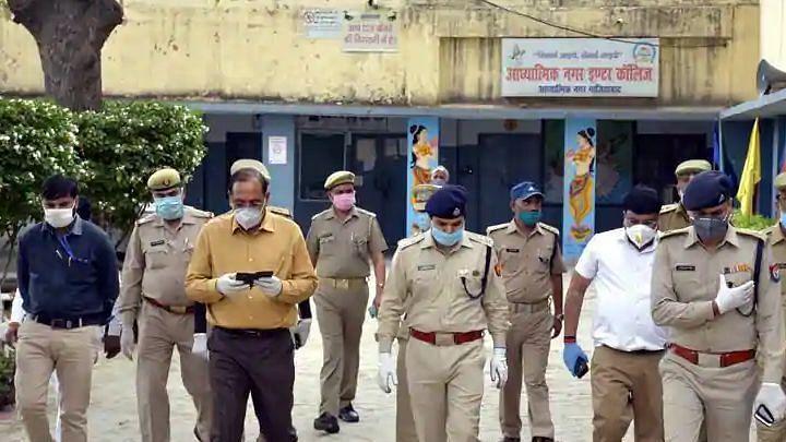 गाजियाबाद: नर्सों से छेड़छाड़ के आरोपी 5 कोरोना संक्रमितों सहित 22 को जेल, 17 विदेशी शामिल