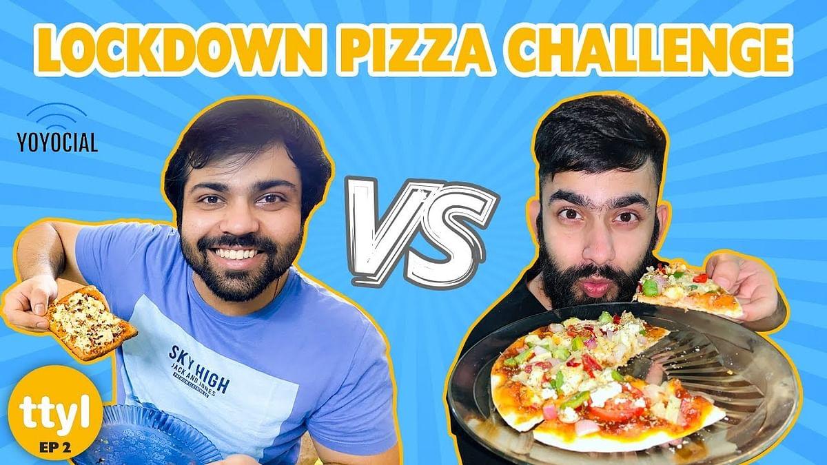 घर में बनाएं पिज़्ज़ा, वो भी थोड़ी चीजों में, और साथ में खूब सारी मस्ती भी
